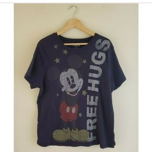Disney - Mickey Mouse - Graphic Tee - Blue - 3X